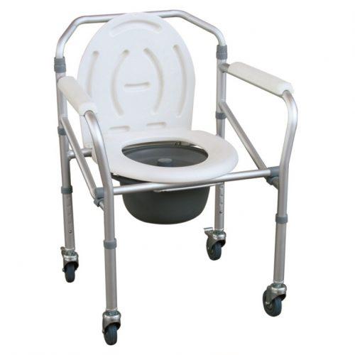 เก้าอี้นั่งถ่าย มีล้อ
